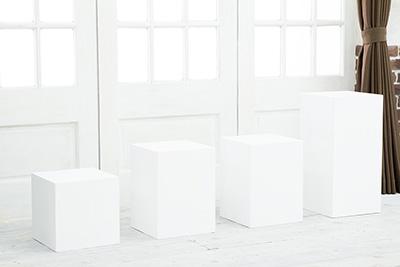 白キューブBOX