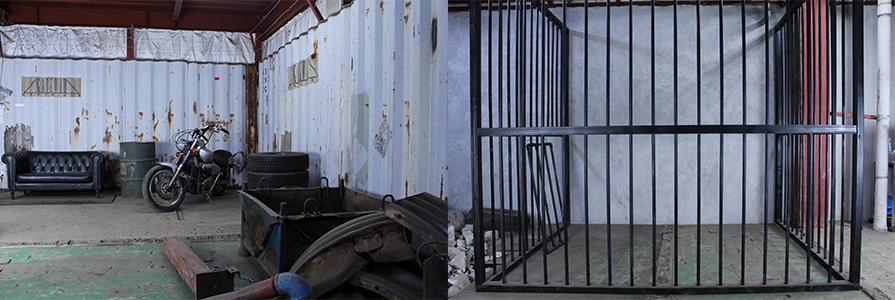 廃墟ベイエリア・ストリートエリア、牢屋&コンクリートエリア