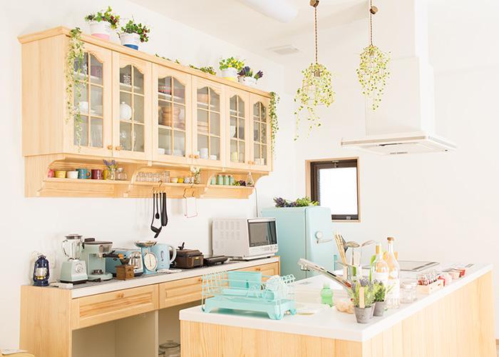 キッチンリビングダイニングスタジオ