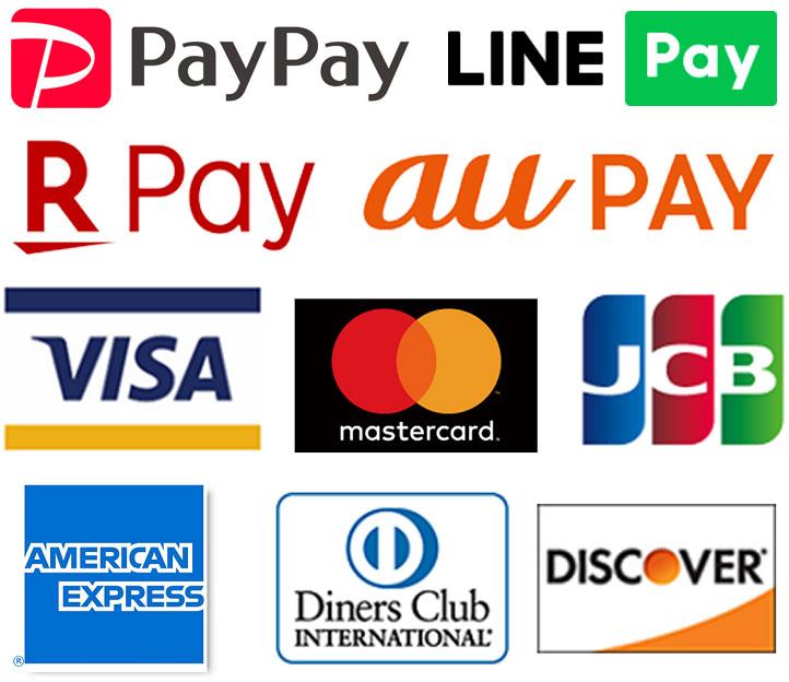 QRコードクレジットカードブランド