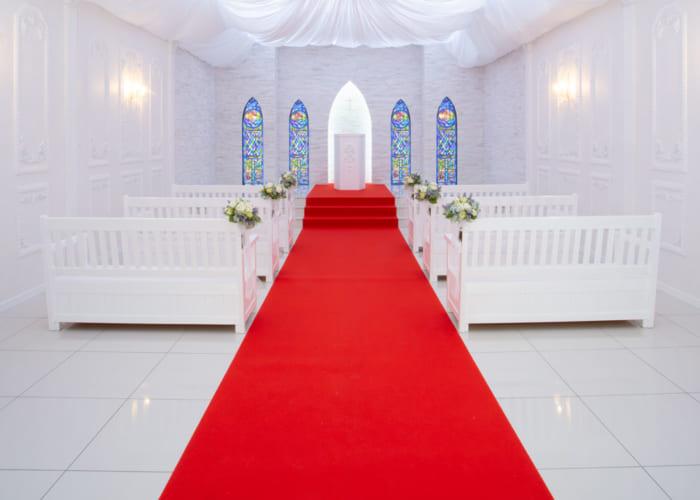 教会結婚式場撮影