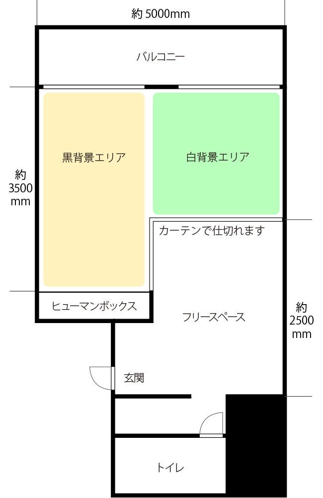 新大阪ライトスタジオ見取り図